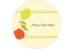 Customize personal or business projects with delightful pre-designed Retro Fruit templates.