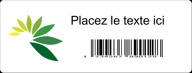 Code-barres industriel Étiquettes Voyantes - gabarit prédéfini. <br/>Utilisez notre logiciel Avery Design & Print Online pour personnaliser facilement la conception.