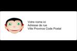 Dracula  Étiquettes d'adresse - gabarit prédéfini. <br/>Utilisez notre logiciel Avery Design & Print Online pour personnaliser facilement la conception.