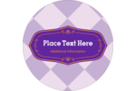 Add elegance with a hint of preppy to projects with pre-designed Purple Seal templates.