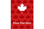 Decorate Canada Day decorations with a symbolic maple leaf to any Canada Day crafts.