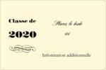 Diplôme d'études supérieures Étiquettes rectangulaires - gabarit prédéfini. <br/>Utilisez notre logiciel Avery Design & Print Online pour personnaliser facilement la conception.