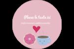 Amours, délices et café Étiquettes de classement - gabarit prédéfini. <br/>Utilisez notre logiciel Avery Design & Print Online pour personnaliser facilement la conception.