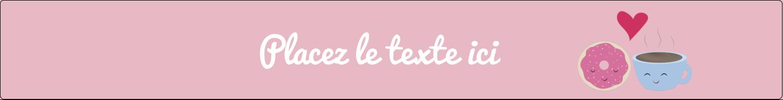 """1½"""" x 2½"""" Étiquettes ovales - Amours, délices et café"""