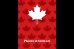 Je suis Canadien Carte Postale - gabarit prédéfini. <br/>Utilisez notre logiciel Avery Design & Print Online pour personnaliser facilement la conception.