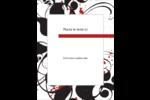 Fioritures dramatiques Carte Postale - gabarit prédéfini. <br/>Utilisez notre logiciel Avery Design & Print Online pour personnaliser facilement la conception.