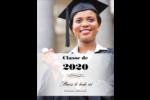 Diplôme d'études supérieures Carte Postale - gabarit prédéfini. <br/>Utilisez notre logiciel Avery Design & Print Online pour personnaliser facilement la conception.