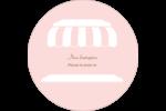 Façade de boutique Étiquettes rondes - gabarit prédéfini. <br/>Utilisez notre logiciel Avery Design & Print Online pour personnaliser facilement la conception.