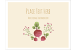 When it comes to country charm, you really can't beat pre-designed Market Beets templates.