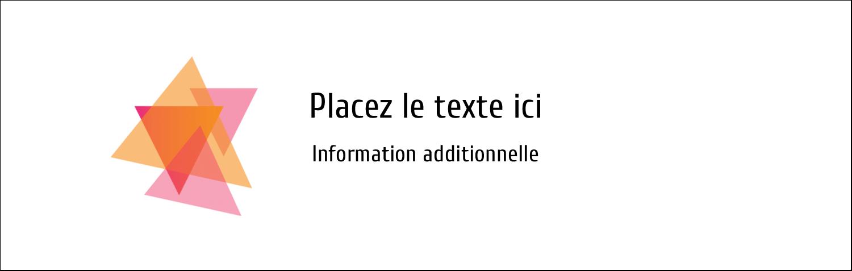 """4¼"""" x 5½"""" Carte de note - Affaires internes"""