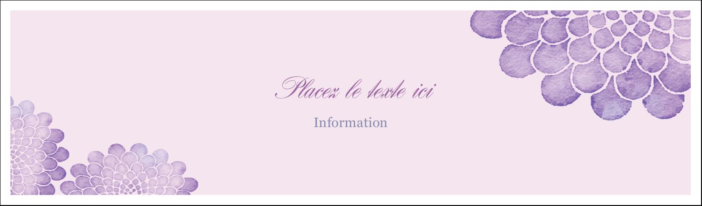 Pétales aquarelle Cartes Pour Le Bureau - gabarit prédéfini. <br/>Utilisez notre logiciel Avery Design & Print Online pour personnaliser facilement la conception.