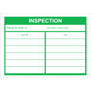 Dossier d'inspection - vert