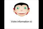 Dracula  Étiquettes D'Identification - gabarit prédéfini. <br/>Utilisez notre logiciel Avery Design & Print Online pour personnaliser facilement la conception.