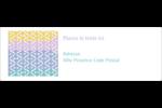 Beauté géométrique Intercalaires / Onglets - gabarit prédéfini. <br/>Utilisez notre logiciel Avery Design & Print Online pour personnaliser facilement la conception.