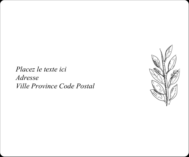 Beauté naturelle Étiquettes D'Adresse - gabarit prédéfini. <br/>Utilisez notre logiciel Avery Design & Print Online pour personnaliser facilement la conception.