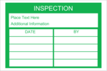 Add a useful tracking component to projects with pre-designed Inspection Record templates.