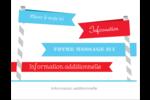Drapeaux des Fêtes Cartes Et Articles D'Artisanat Imprimables - gabarit prédéfini. <br/>Utilisez notre logiciel Avery Design & Print Online pour personnaliser facilement la conception.