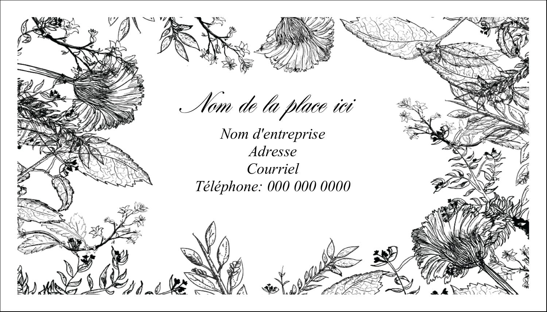 Beauté naturelle Carte d'affaire - gabarit prédéfini. <br/>Utilisez notre logiciel Avery Design & Print Online pour personnaliser facilement la conception.
