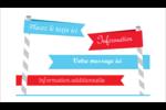 Drapeaux des Fêtes Carte d'affaire - gabarit prédéfini. <br/>Utilisez notre logiciel Avery Design & Print Online pour personnaliser facilement la conception.