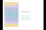 Beauté géométrique Badges - gabarit prédéfini. <br/>Utilisez notre logiciel Avery Design & Print Online pour personnaliser facilement la conception.