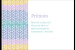 Beauté géométrique Étiquettes à codage couleur - gabarit prédéfini. <br/>Utilisez notre logiciel Avery Design & Print Online pour personnaliser facilement la conception.