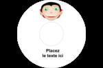 Dracula  Étiquettes Pour Médias - gabarit prédéfini. <br/>Utilisez notre logiciel Avery Design & Print Online pour personnaliser facilement la conception.