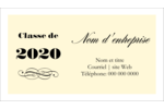 Diplôme d'études supérieures Cartes Pour Le Bureau - gabarit prédéfini. <br/>Utilisez notre logiciel Avery Design & Print Online pour personnaliser facilement la conception.