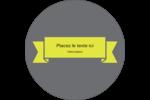 Sandwich  Étiquettes Voyantes - gabarit prédéfini. <br/>Utilisez notre logiciel Avery Design & Print Online pour personnaliser facilement la conception.