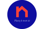 Immeubles rouge et bleu Étiquettes Voyantes - gabarit prédéfini. <br/>Utilisez notre logiciel Avery Design & Print Online pour personnaliser facilement la conception.