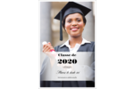 Diplôme d'études supérieures Reliures - gabarit prédéfini. <br/>Utilisez notre logiciel Avery Design & Print Online pour personnaliser facilement la conception.