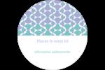 Beauté géométrique Étiquettes Voyantes - gabarit prédéfini. <br/>Utilisez notre logiciel Avery Design & Print Online pour personnaliser facilement la conception.