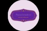 Scellé violet Étiquettes Voyantes - gabarit prédéfini. <br/>Utilisez notre logiciel Avery Design & Print Online pour personnaliser facilement la conception.