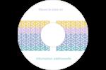 Beauté géométrique Étiquettes de classement - gabarit prédéfini. <br/>Utilisez notre logiciel Avery Design & Print Online pour personnaliser facilement la conception.