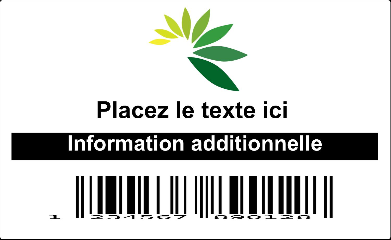 Code-barres industriel Étiquettes d'expéditions - gabarit prédéfini. <br/>Utilisez notre logiciel Avery Design & Print Online pour personnaliser facilement la conception.