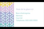 Beauté géométrique Carte d'affaire - gabarit prédéfini. <br/>Utilisez notre logiciel Avery Design & Print Online pour personnaliser facilement la conception.