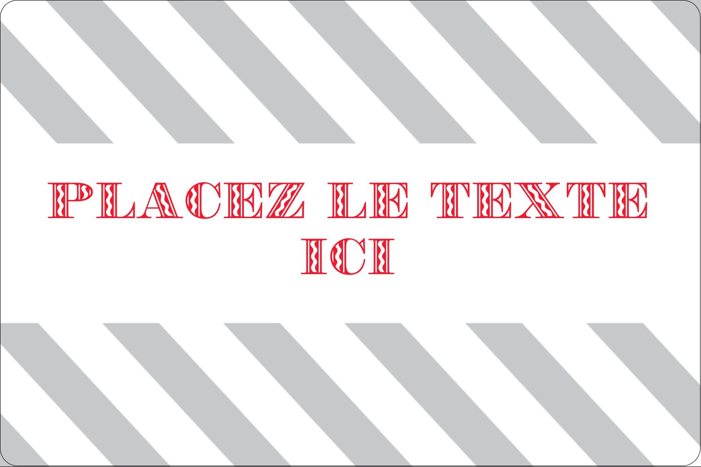 """3"""" x 3¾"""" Étiquettes rectangulaires - Drapeaux des Fêtes"""