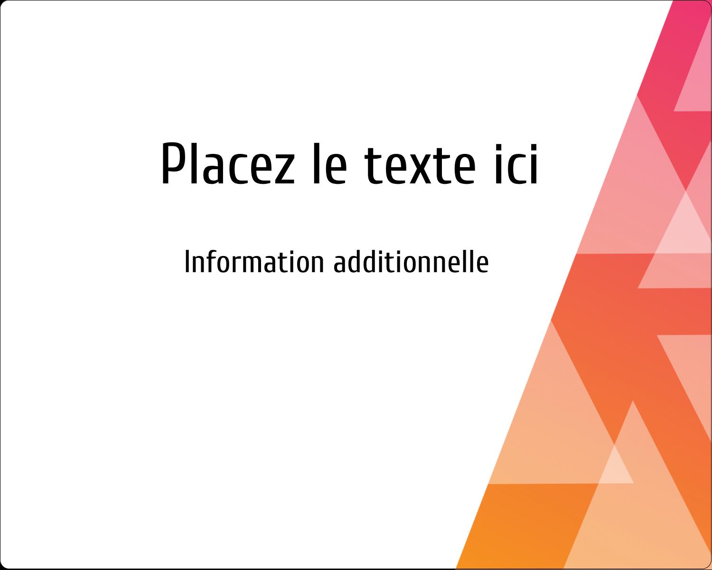 """2"""" Diameter Étiquettes rondes gaufrées - Affaires internes"""