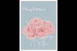 Petit bouquet Étiquettes rondes - gabarit prédéfini. <br/>Utilisez notre logiciel Avery Design & Print Online pour personnaliser facilement la conception.