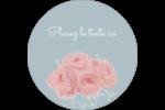 Petit bouquet Étiquettes arrondies - gabarit prédéfini. <br/>Utilisez notre logiciel Avery Design & Print Online pour personnaliser facilement la conception.