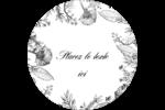 Beauté naturelle Étiquettes arrondies - gabarit prédéfini. <br/>Utilisez notre logiciel Avery Design & Print Online pour personnaliser facilement la conception.