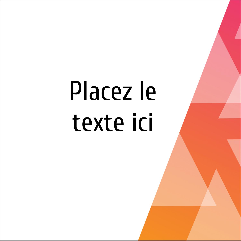 """1½"""" x 1½"""" Étiquettes carrées - Affaires internes"""