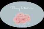 Petit bouquet Étiquettes carrées - gabarit prédéfini. <br/>Utilisez notre logiciel Avery Design & Print Online pour personnaliser facilement la conception.