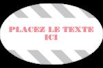 Drapeaux des Fêtes Étiquettes carrées - gabarit prédéfini. <br/>Utilisez notre logiciel Avery Design & Print Online pour personnaliser facilement la conception.