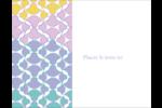 Beauté géométrique Carte Postale - gabarit prédéfini. <br/>Utilisez notre logiciel Avery Design & Print Online pour personnaliser facilement la conception.