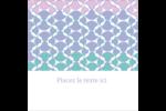Beauté géométrique Étiquettes carrées - gabarit prédéfini. <br/>Utilisez notre logiciel Avery Design & Print Online pour personnaliser facilement la conception.