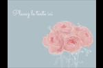 Petit bouquet Carte Postale - gabarit prédéfini. <br/>Utilisez notre logiciel Avery Design & Print Online pour personnaliser facilement la conception.