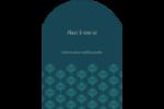 Plume de paon Étiquettes rectangulaires - gabarit prédéfini. <br/>Utilisez notre logiciel Avery Design & Print Online pour personnaliser facilement la conception.