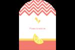 Fruits roses Étiquettes rectangulaires - gabarit prédéfini. <br/>Utilisez notre logiciel Avery Design & Print Online pour personnaliser facilement la conception.