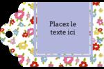 Fleurs printanières Étiquettes imprimables - gabarit prédéfini. <br/>Utilisez notre logiciel Avery Design & Print Online pour personnaliser facilement la conception.