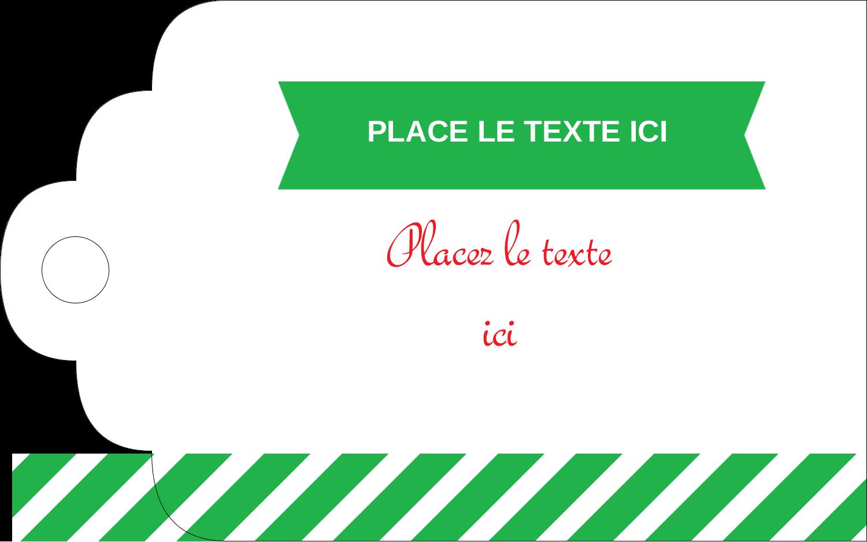 """2"""" x 1⅛"""" Étiquettes imprimables - Ornements de Noël"""